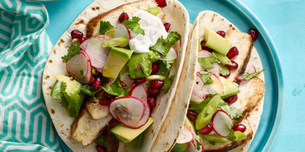 Chicken Paillards With Avocado And Pomegranate Salsa Recipes ...