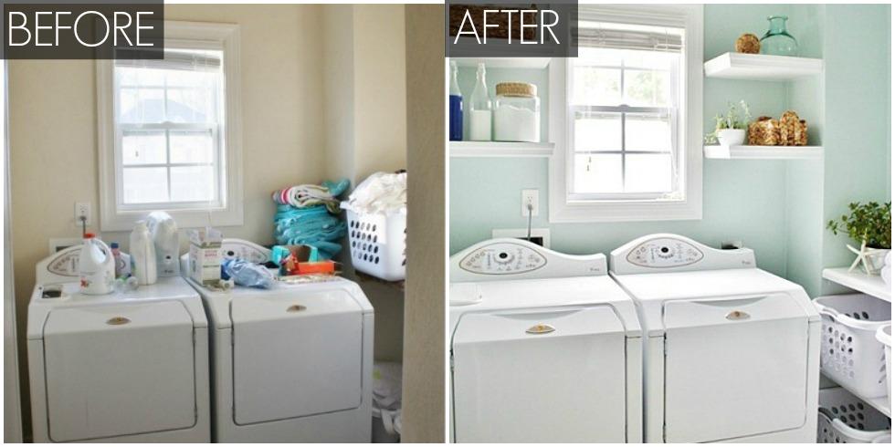 Organized Laundry Room Makeover Laundry Room Ideas