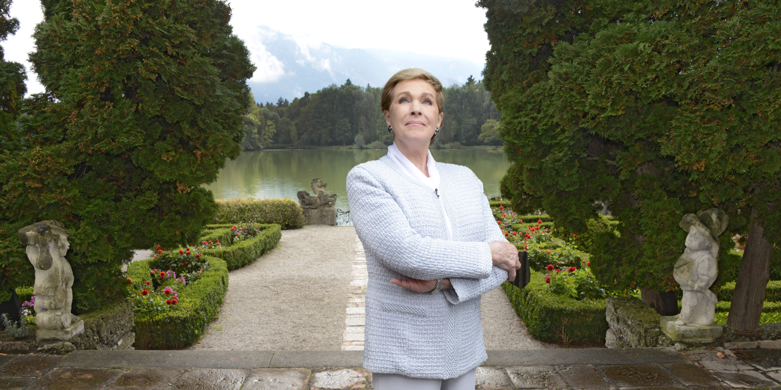 Julie Andrews Returns To Salzburg Sound Of Music 50 Year