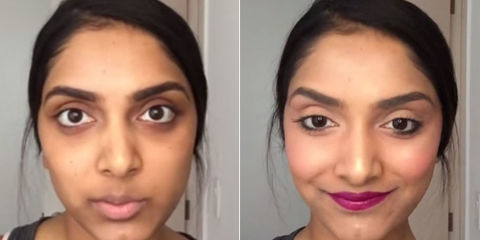 Makeup Trick to Hide Dark Circles