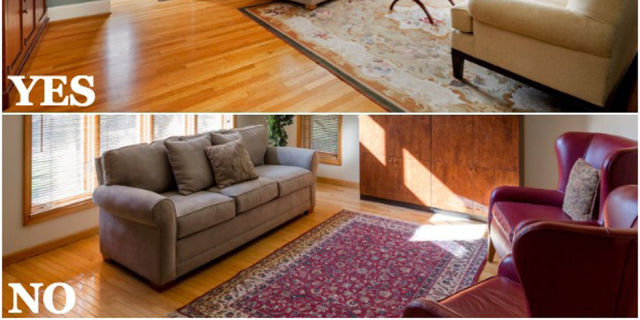 Rug Over Carpet Ideas