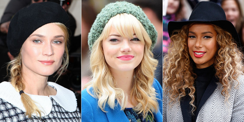 Admirable Hairstyles To Wear With Hats Cute Hats And Hairstyles Short Hairstyles For Black Women Fulllsitofus