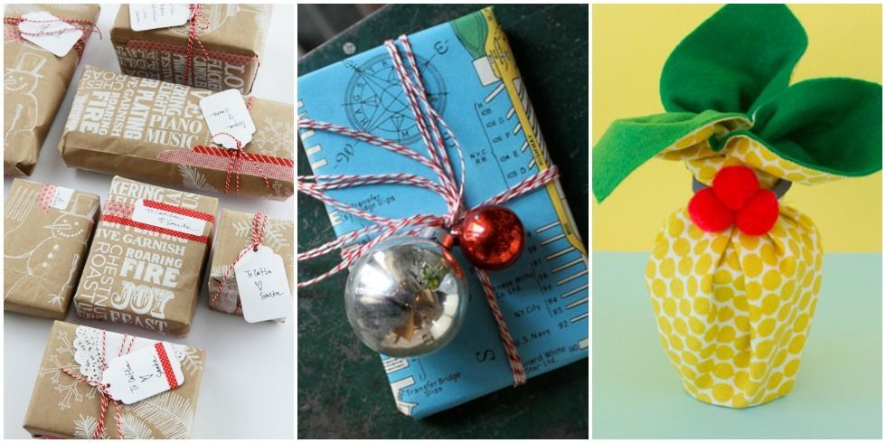Creative Gift Wrapping Ideas - Upcycled Gift Wrap
