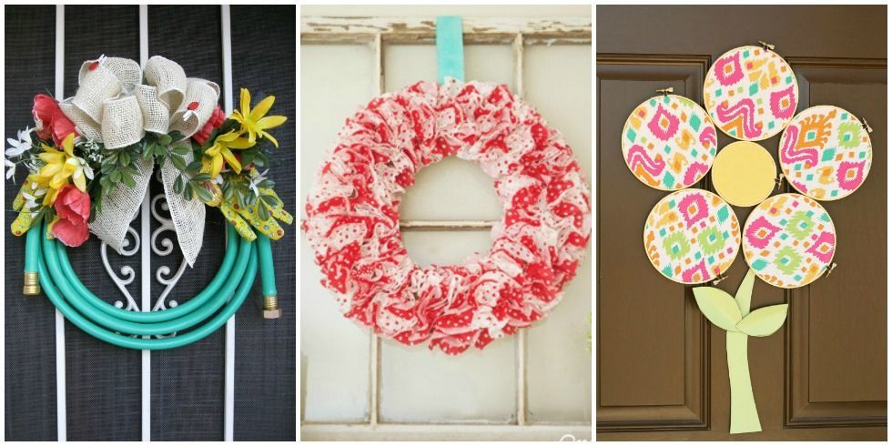 Unique diy wreaths unexpected wreath crafts - Interesting diy halloween wreaths home ...