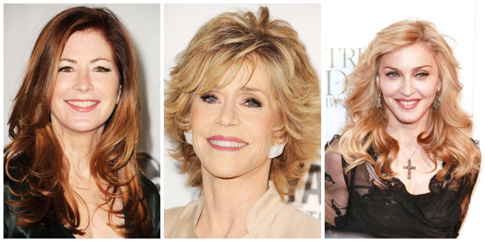 Best Hairstyles for Women Over 50 - Celebrity Haircuts Over 50