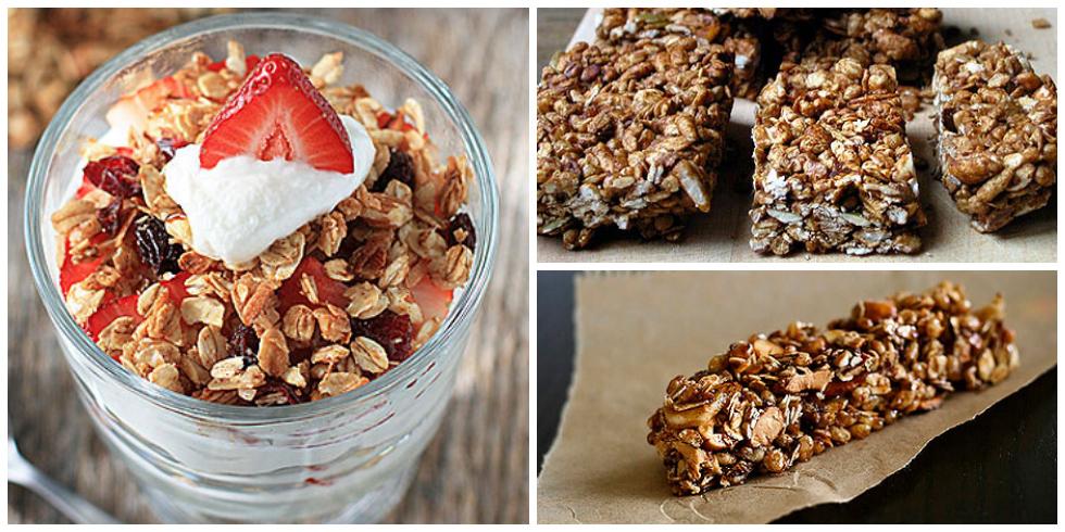 21 healthy granola bar recipes how to make granola bars for Food bar health