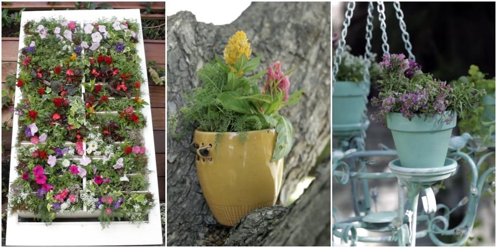 Upcycled Planter Ideas Repurposed Garden Pots