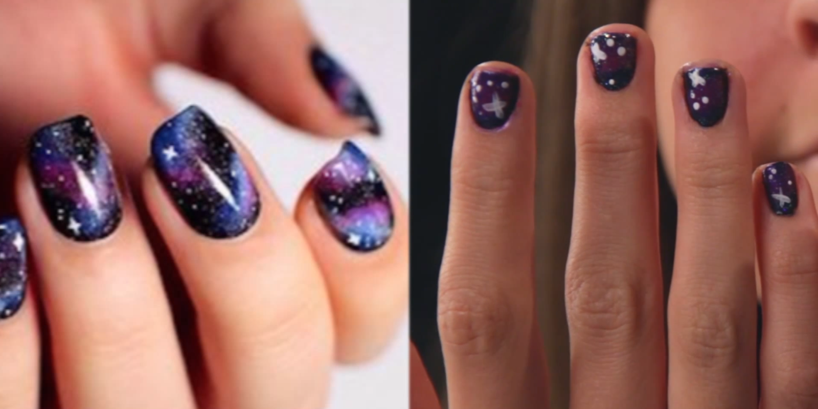 Real people try pinterest manicures nail art pinterest fails sciox Gallery