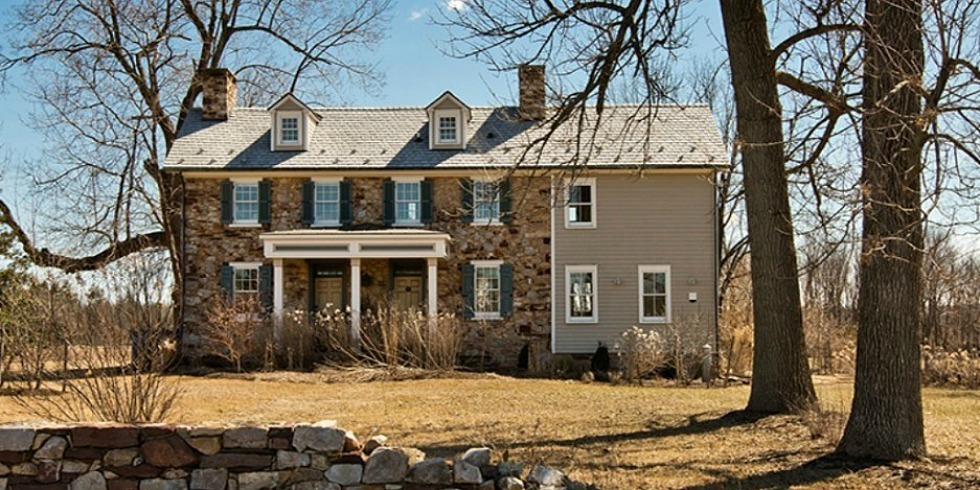 17th century pennsylvania farmhouse historic home tour for Pennsylvania stone farmhouses