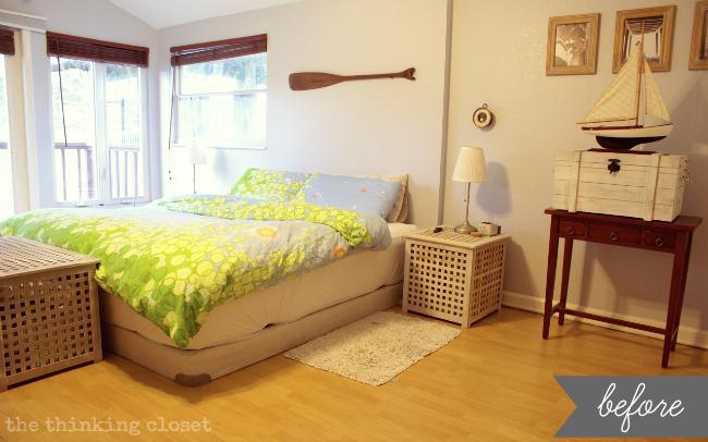 nautical bedroom. The Thinking Closet Nautical Bedroom Makeover  Seashore Themed