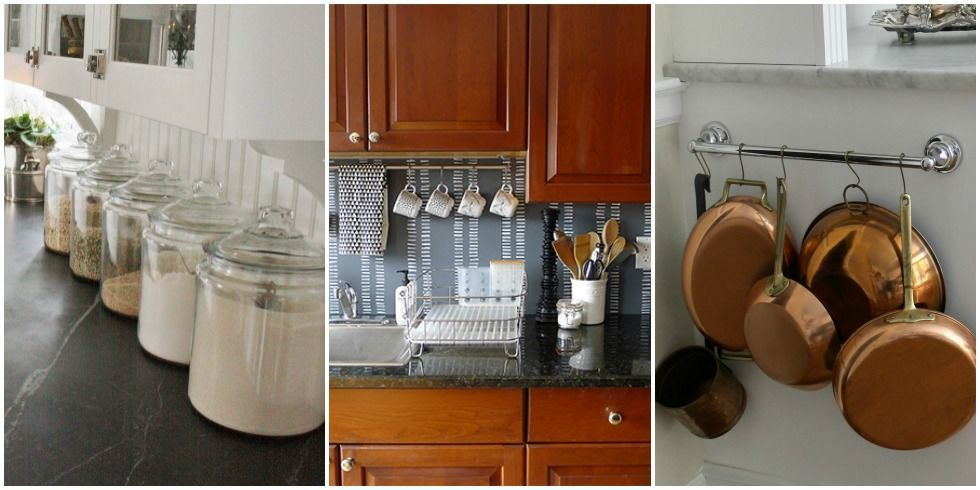 Design ideas for little counter space organizing a small for How to decorate a kitchen counter