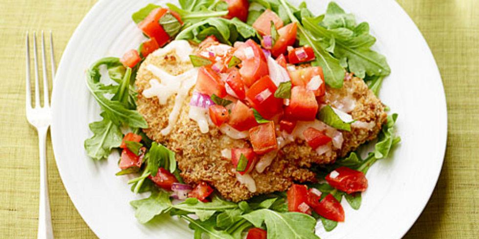 Crispy Chicken Parmesan Recipe - Best Chicken Parm