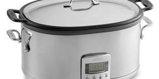All Clad 7 Qt. Electric Slow Cooker With Cast Aluminum Insert Review