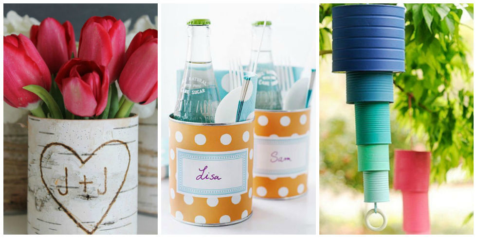 Tin Can Crafts - Arts and Crafts Ideas