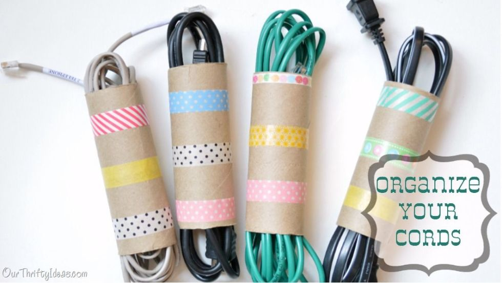 11 Genius Uses For Old Toilet Paper Rolls - Get Your Cords In Order ...