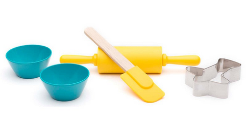 Zak! Tiny Chef 5 Piece Baking Set For Cookies