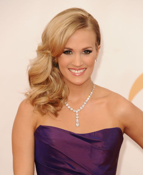 A classic honey blonde like Carrie Underwood's warms up any fair complexion.