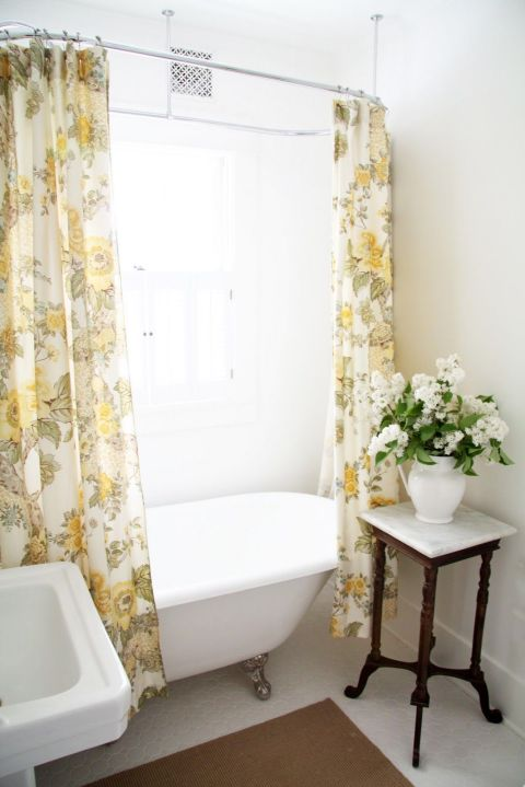 70s bathroom makeover panelling in bathroom before and after for Good housekeeping bathroom ideas