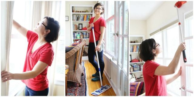 Cleaning The House how to clean your house fast - quick cleaning tips - good housekeeping