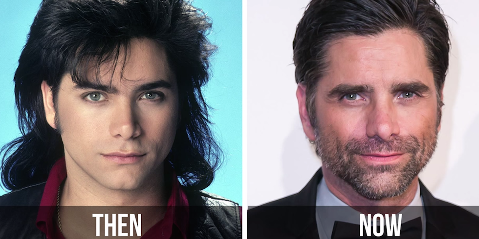 Full house cast now and then pictures