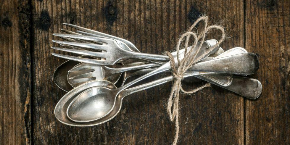 Vintage Silverware Crafts - Repurpose Old Silverware