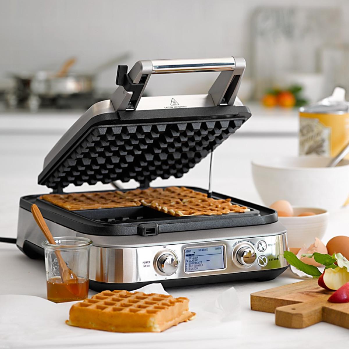 waring belgian waffle maker instructions