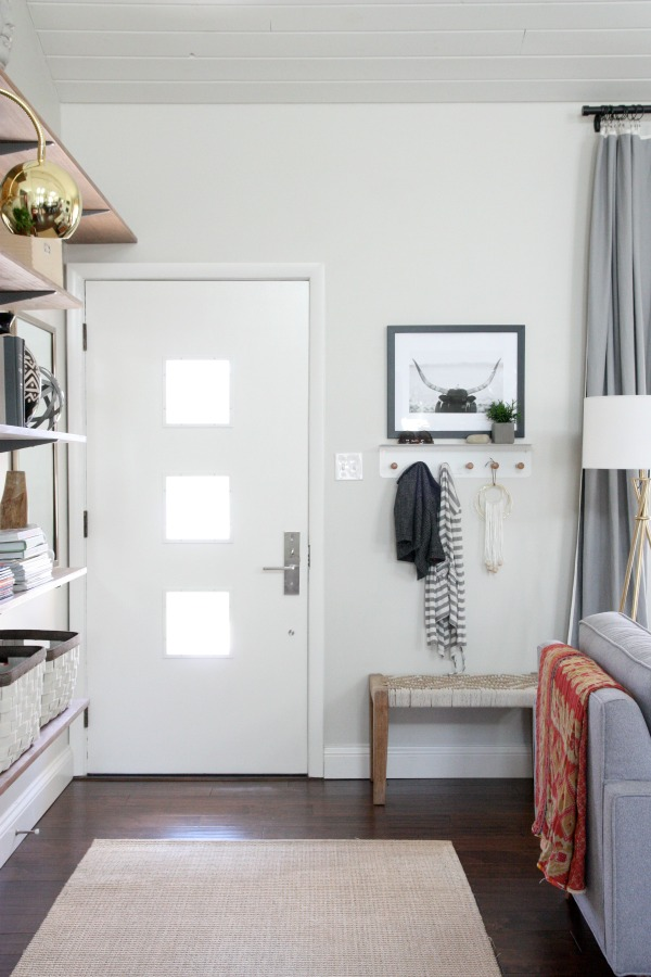 living room entryway.  10 Ways to Fake an Entryway Decorating Tips