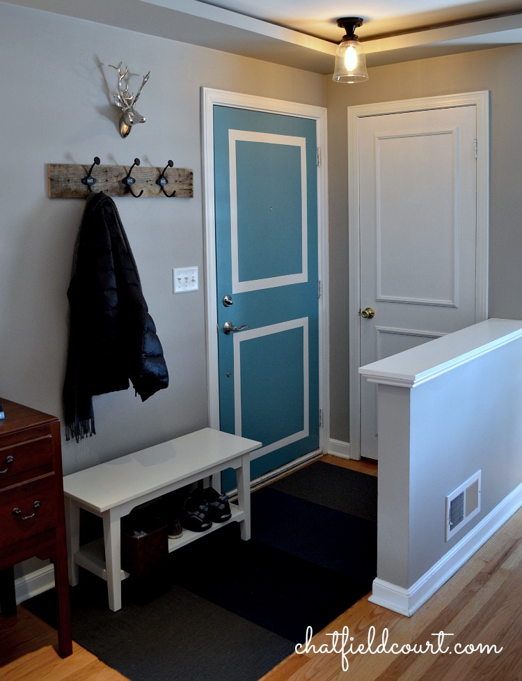 Paint Ideas For Entryway 10 ways to fake an entryway - entryway decorating tips