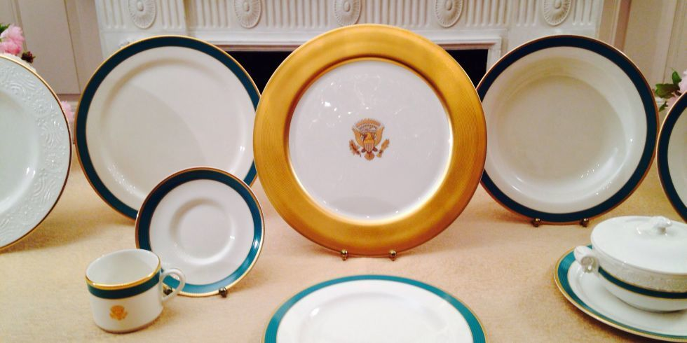 Diy crafts for bathroom - History Of White House China Patterns Obama White House China