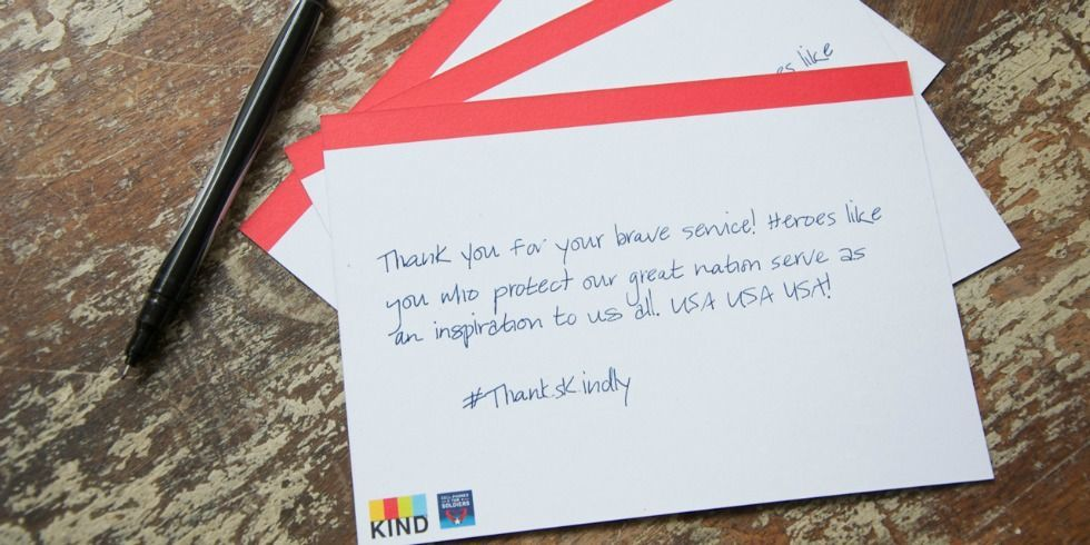 Letters to service members thankskindly military appreciation month now you can mail a handwritten note anytime anywhere spiritdancerdesigns Image collections