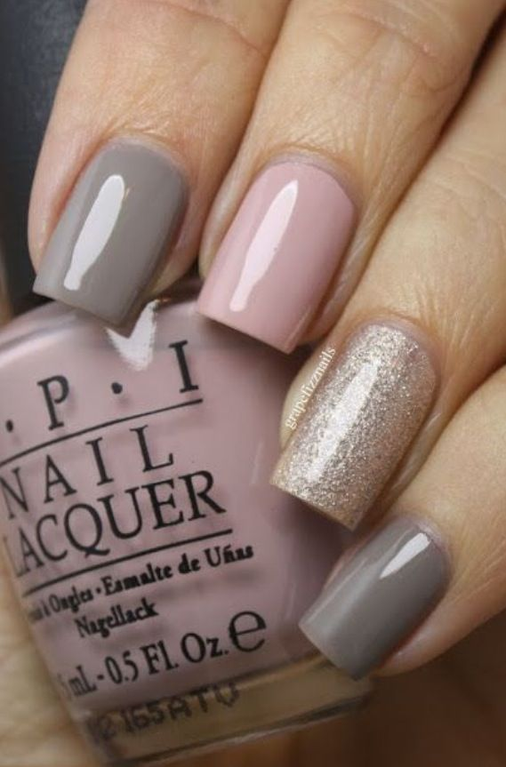 Blush colored nail polish looks pale pink nail art ideas prinsesfo Image collections