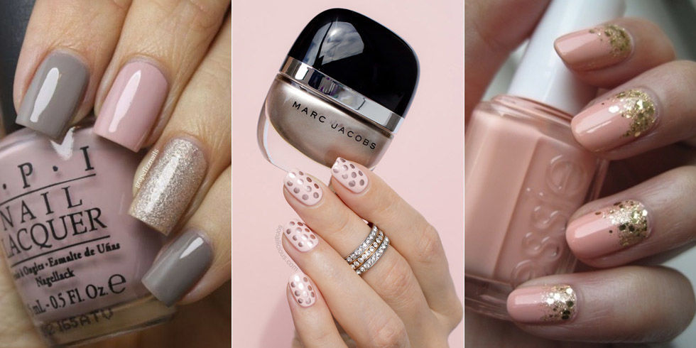 Blush colored nail polish looks pale pink nail art ideas prinsesfo Gallery