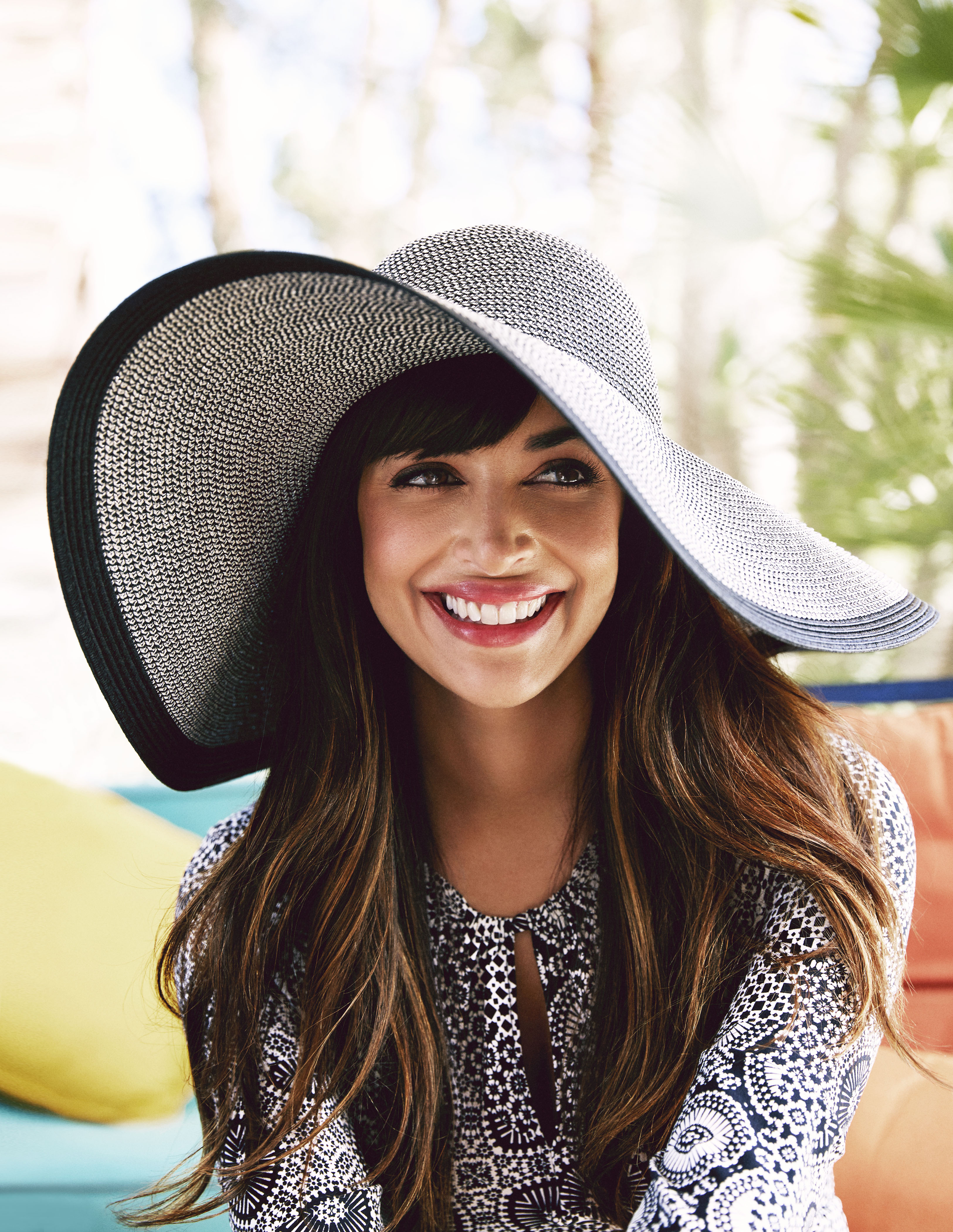 Hannah Simone Fashion Spread Good Housekeeping June 2015 Issue