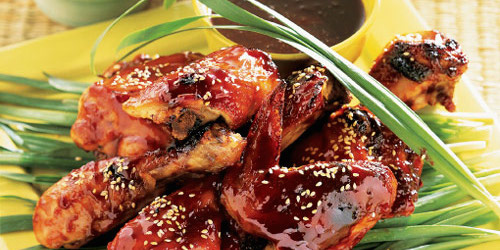 Chinese five spice grilled chicken for 7 spices asian cuisine