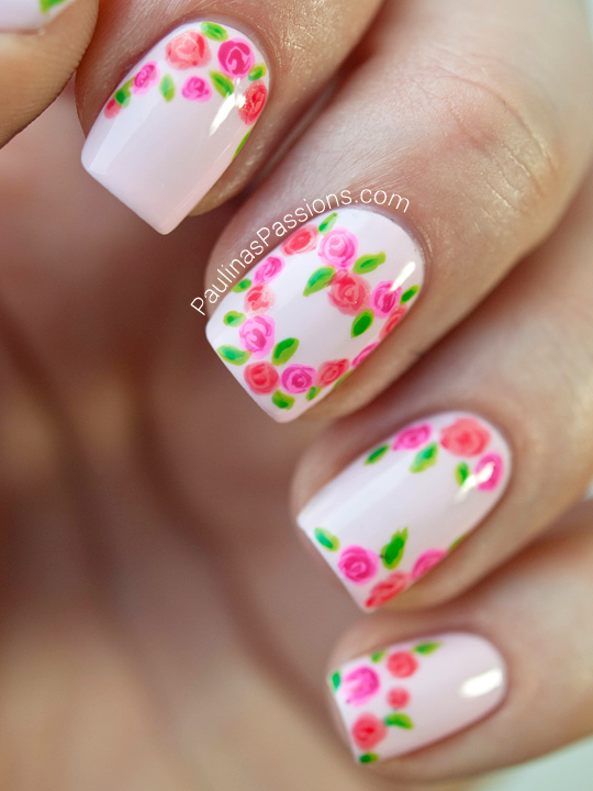 20 flower nail art design ideas easy floral manicures for spring 20 flower nail art design ideas easy floral manicures for spring and summer prinsesfo Image collections