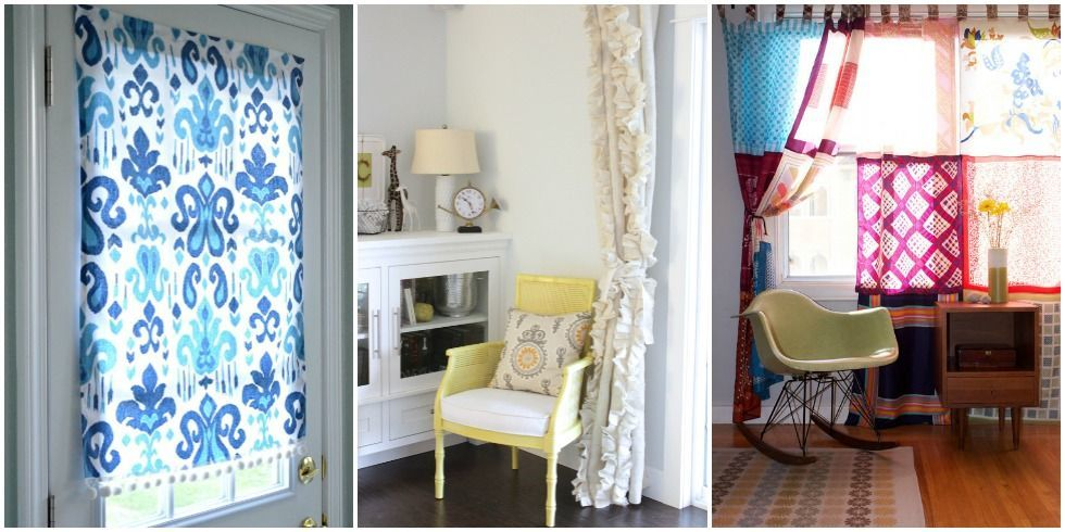 Diy Christmas Window Treatments : Diy window treatments curtains and shades