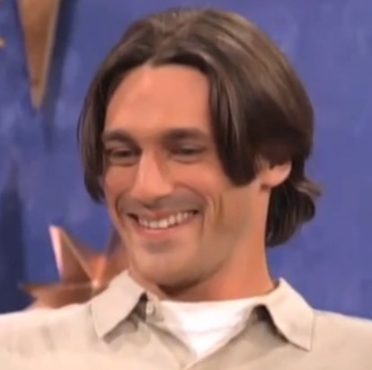 Jon hamm 1990's dating show