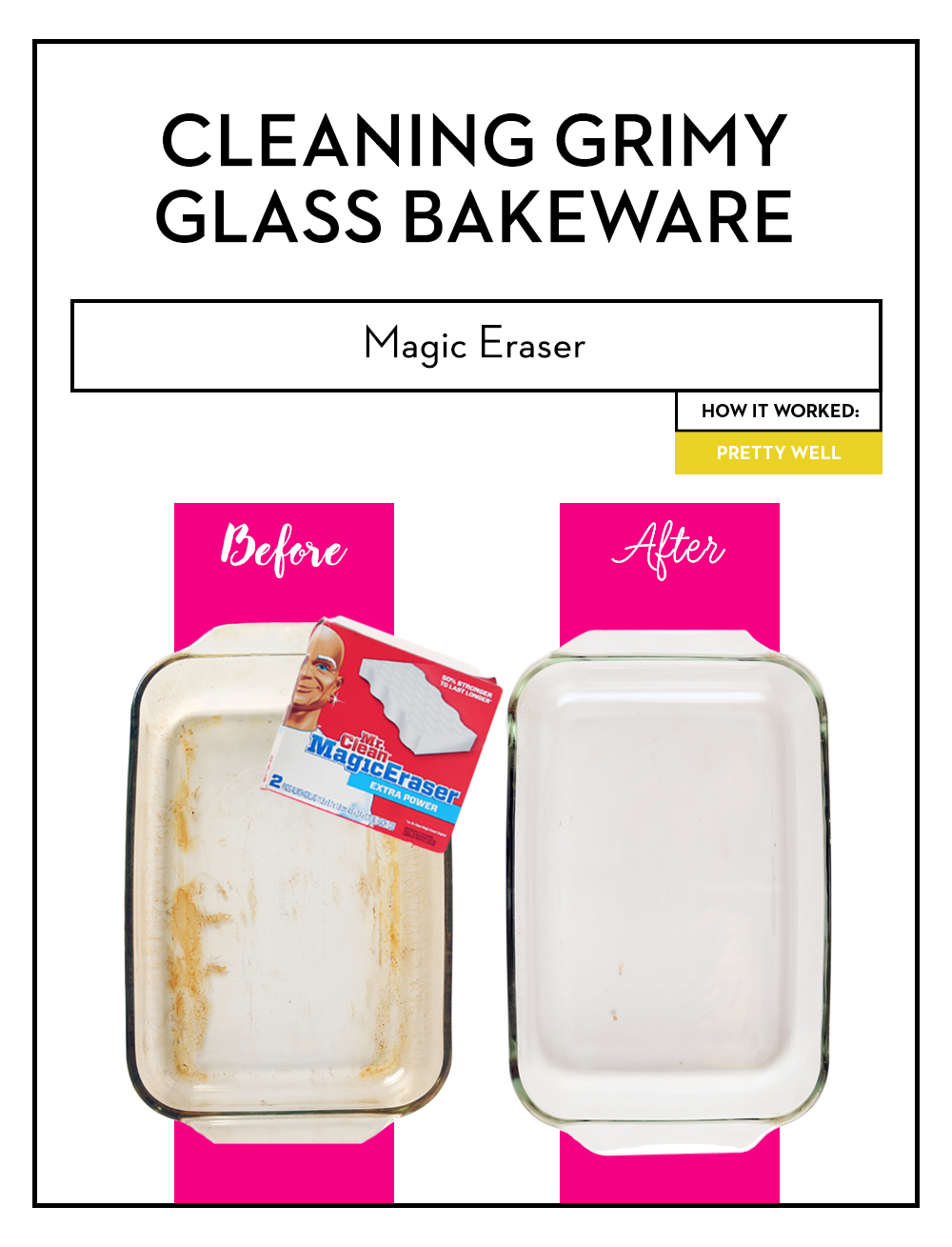 Best Way To Clean Pyrex Dish How To Clean Dirty Glass