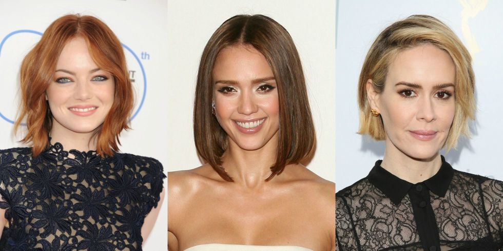 Surprising 50 Bob Haircuts And Hairstyles Inspired By Celebrities Bob Hairstyles For Women Draintrainus