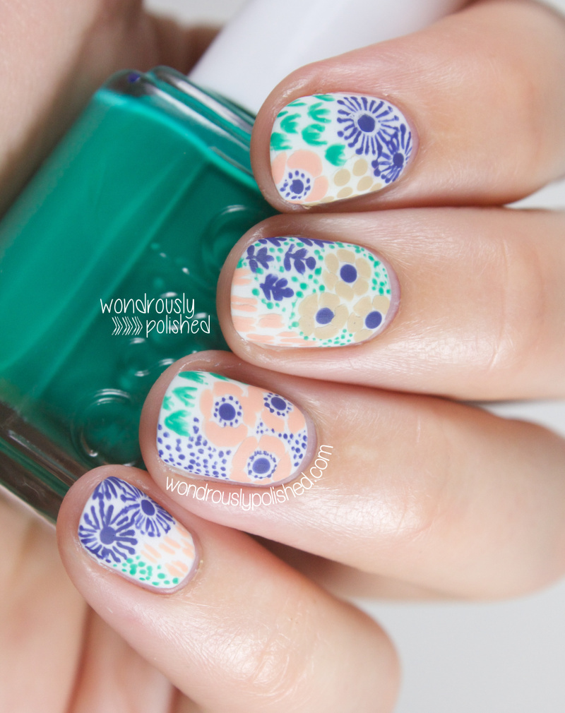 nail art ideas for short nails manicures designs for shorter nails - Nail Design Ideas For Short Nails