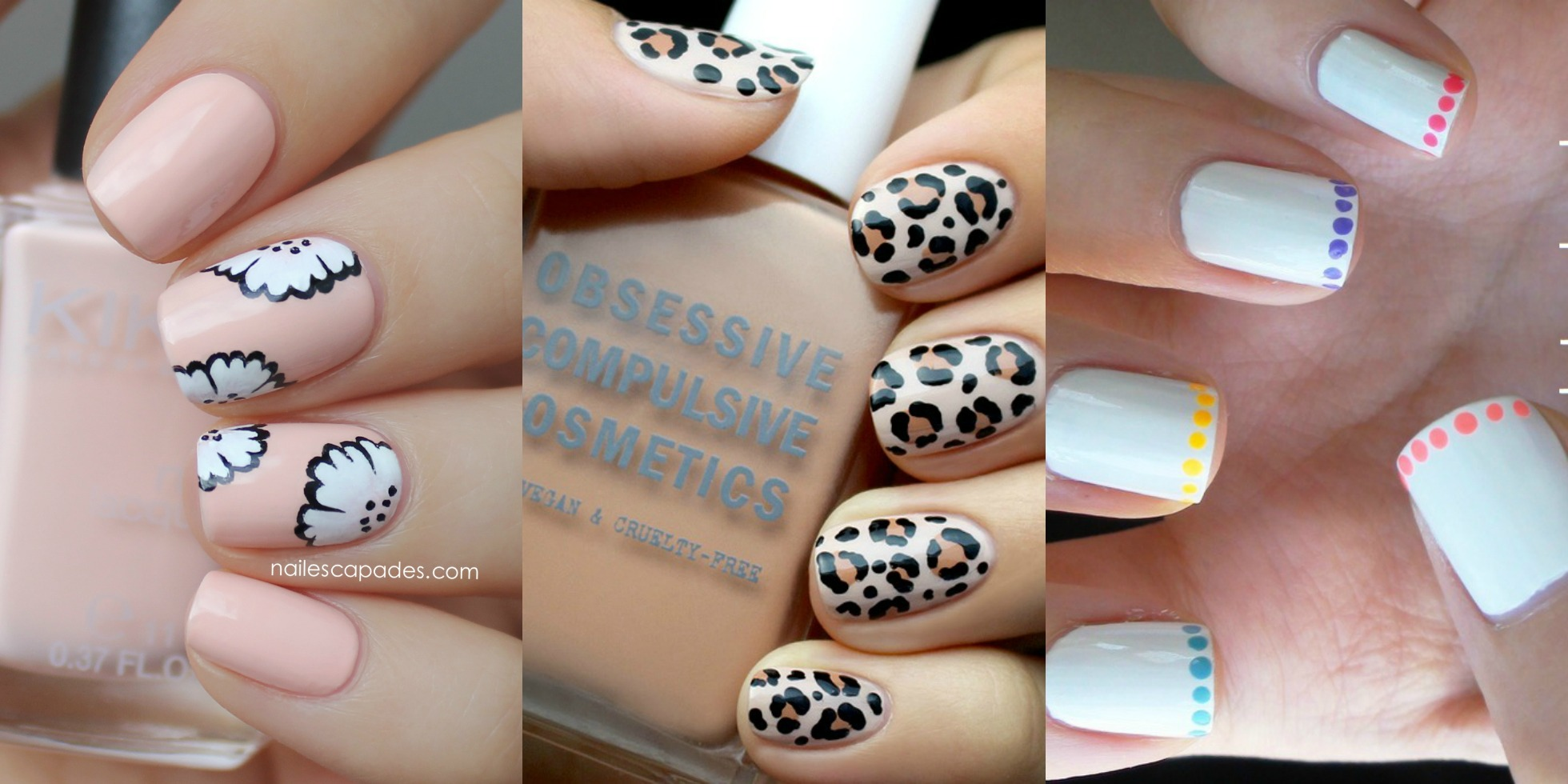 Nail Design Ideas For Short Nails prev next motif gray nail art design idea for short nails cute 10 Photos