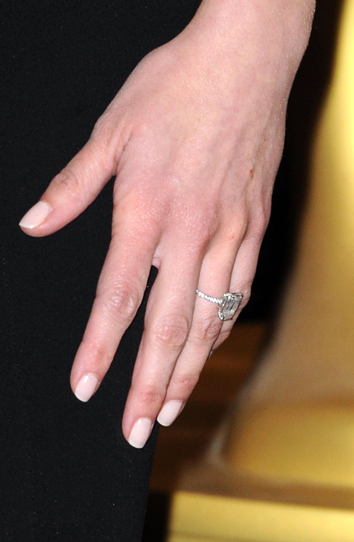 Lovely Black Diamond Engagement Ring Celebrity | Wedding