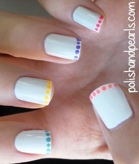 15 Nail Art Designs That Look Better On Short Nails: Nail Art Ideas For Short Nails