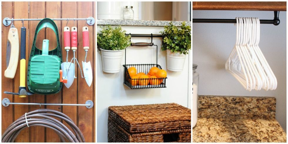 9 clever ways to organize with a towel bar - Kitchen Towel Bars Ideas