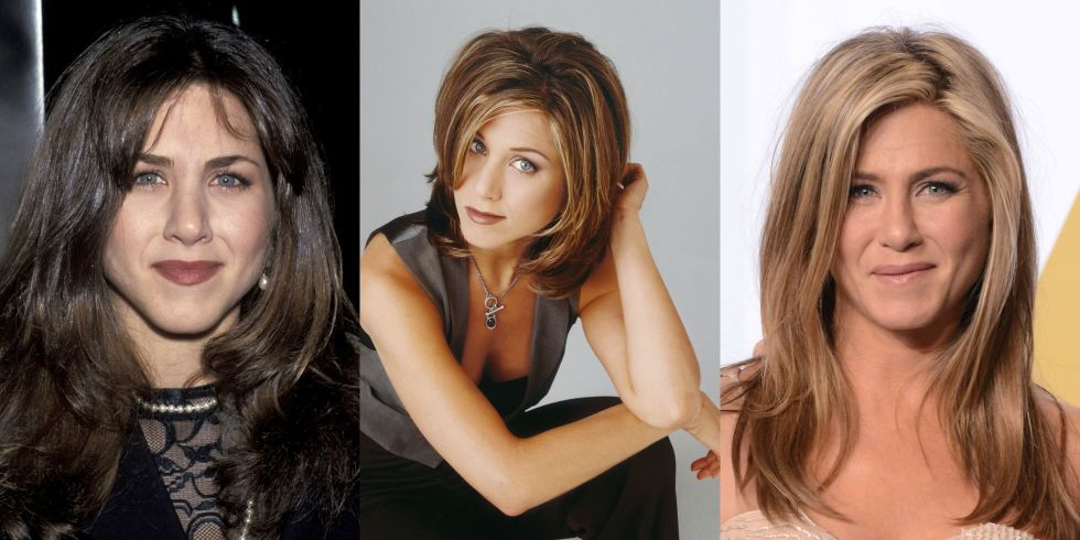 Jennifer Aniston Hair Evolution