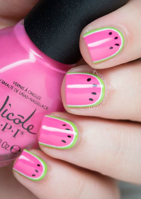 12 Summer Nail Art Ideas 2015 Manicure Designs For