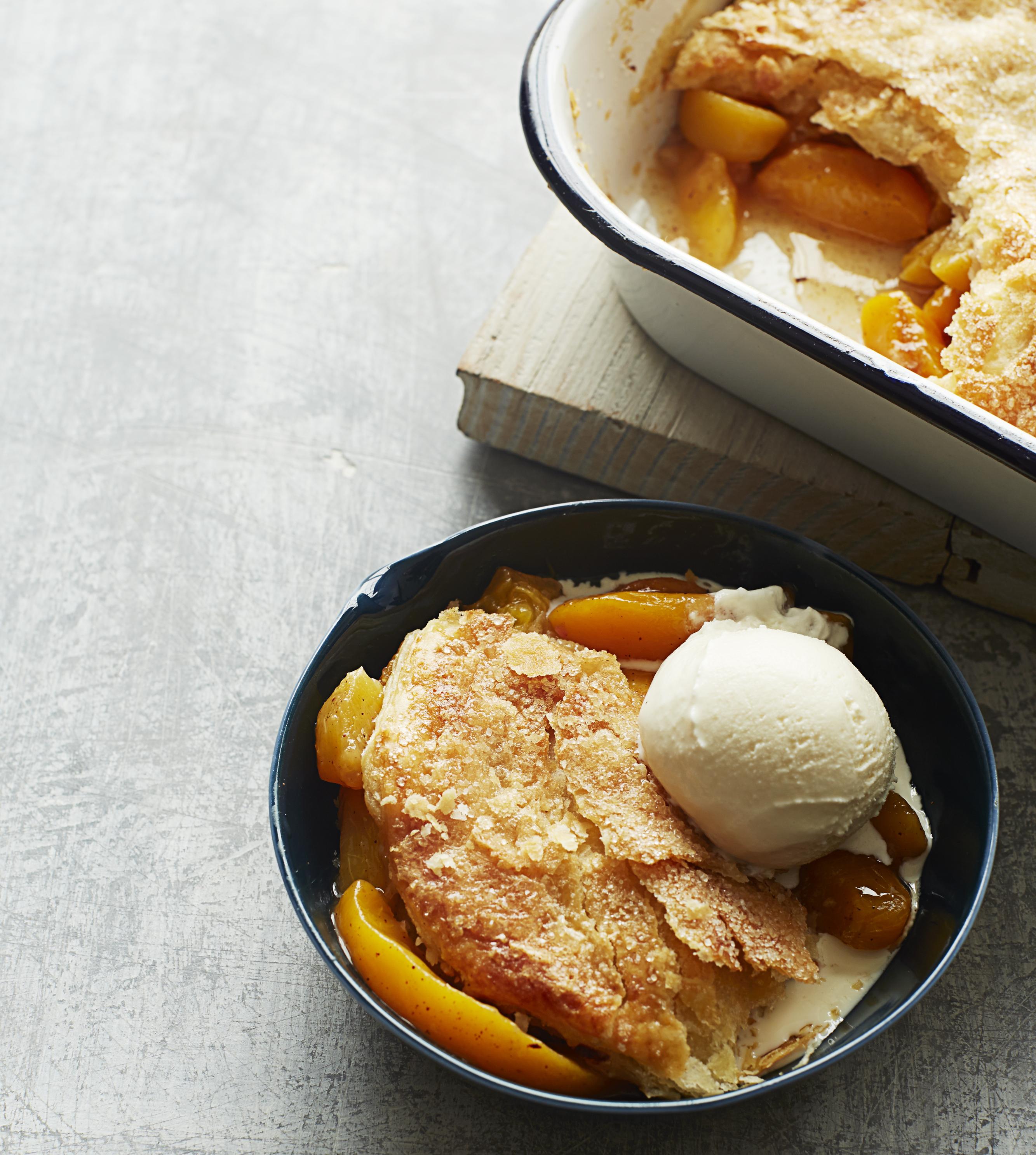 Carla's Peach Cobbler Recipe
