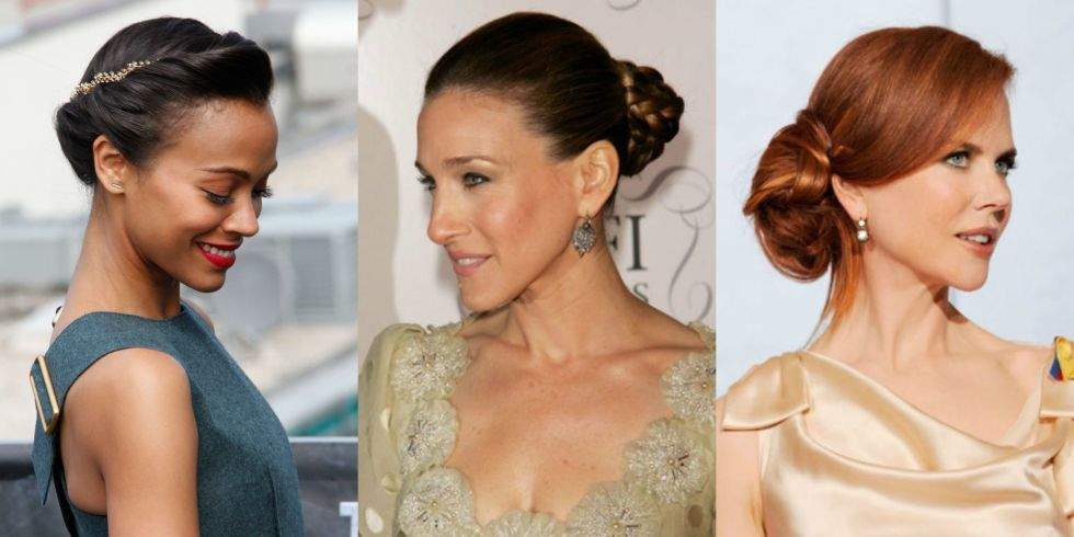 Strange 45 Updos Inspired By Celebrities Easy Updo Hairstyles Short Hairstyles Gunalazisus