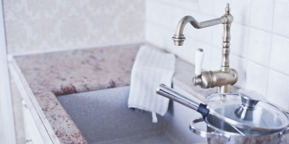 keep your sinks and showers flowing with this quick tip