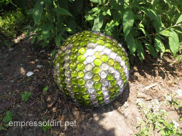 Sparkling Sphere - DIY Garden Ornaments - Lawn Ornaments And Garden Decor